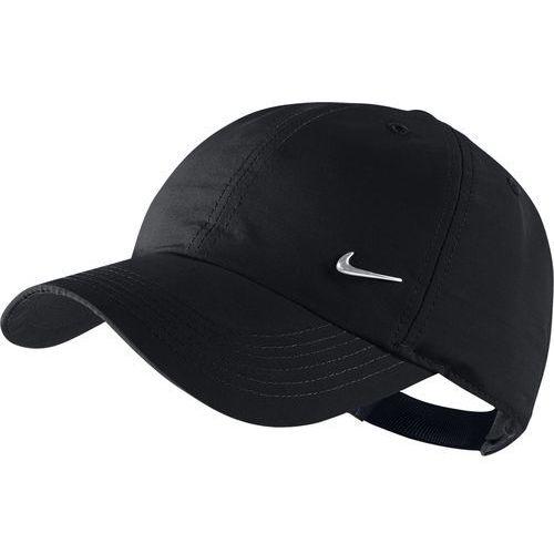 Nike dla dzieci Cap Metal Swoosh,405043, czarny, jeden rozmiar, 405043-010