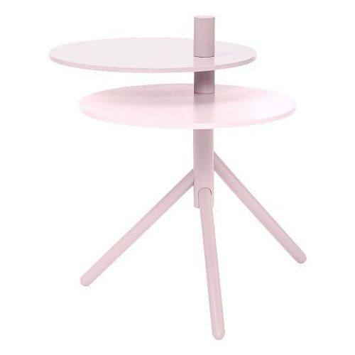 Viola- stolik boczny od Bloomingville - różowy