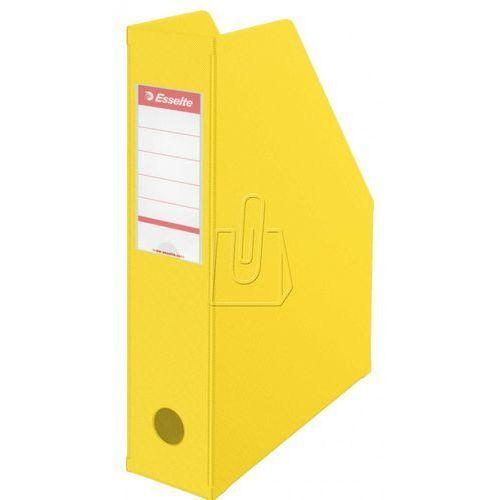 Esselte Pojemnik pcv składany vivida 56001 żółty