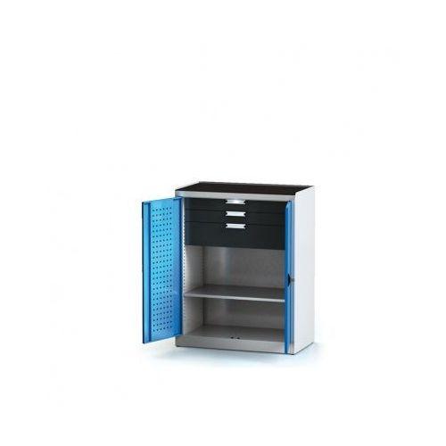 Szafa warsztatowa - 1 półka, 3 szuflady marki Alfa 3