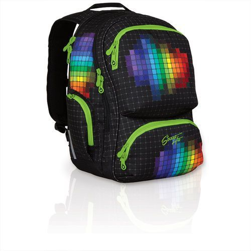 Plecak młodzieżowy Topgal HIT 826 A - Black, kolor czarny