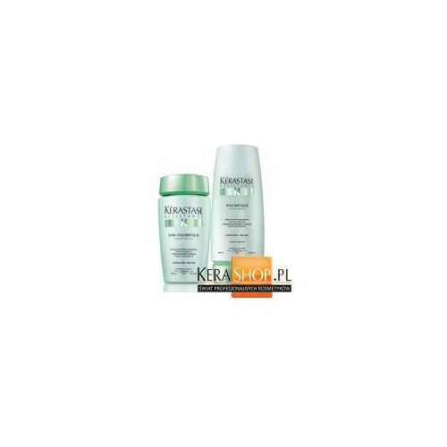 Kerastase volumifique  zestaw nadający objętość: szampon 250 ml + mleczko 200 ml