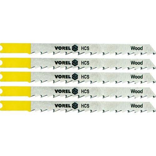 Brzeszczot do wyrzynarki, uchwyt typu b&d, do laminatów, kpl. 5szt. 27833 - zyskaj rabat 30 zł marki Vorel
