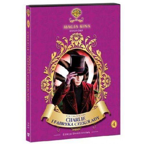 Film GALAPAGOS Charlie i fabryka czekolady (Magia Kina) Charlie and the Chocolate Factory, towar z kategorii: Filmy animowane