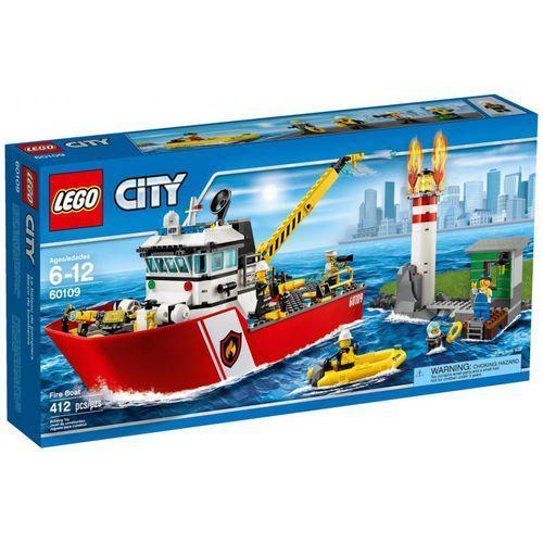 Lego City Łódź strażacka z kategorii Łodzie i statki