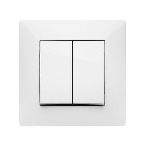 Łącznik podwójny Elektro-Plast Volante biały (5902012982457)