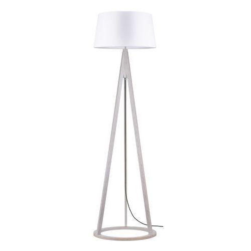 Spot light Lampa podłogowa konan dąb bielony/antracyt/biały e27 60w