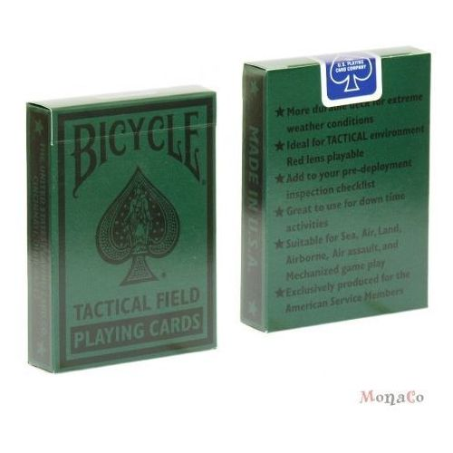 Uspcc - u.s. playing card compa Karty bicycle tactical field - uspc karty bicycle tactical field - uspc