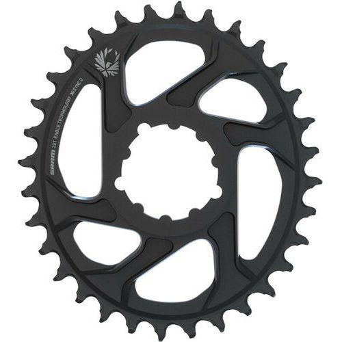 SRAM X-SYNC 2 Oval Zębatka rowerowa 6mm Offset czarny 38T 2018 Zębatki przednie
