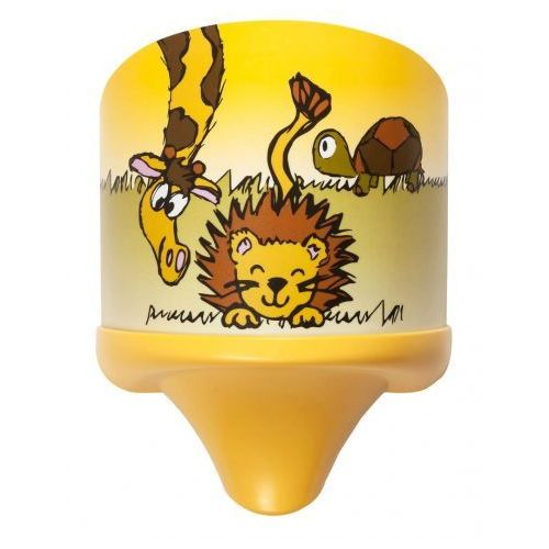 Kinkiet lampa ścienna dziecięca Rabalux Leon 1x7W E14 wielokolorowy 4571 (5998250345710)
