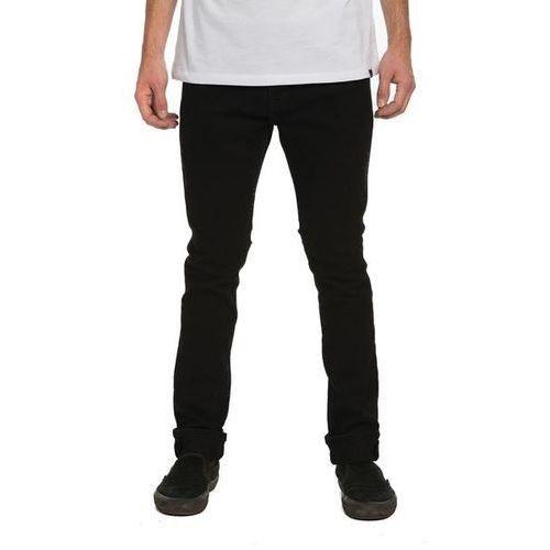 spodnie KREW - K Skinny Denim Pant Trashed Black (051) rozmiar: 36, kolor czarny