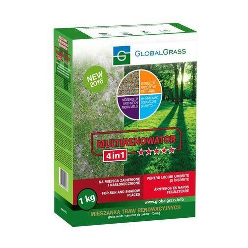 Global grass Trawa renowacyjna na miejsca zacienione i nasłonecznione multirenowator 4in1 1 kg