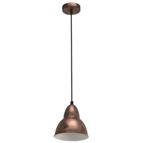 lampa wisząca VINTAGE TRURO - 15,5 cm miedziana, EGLO 49235