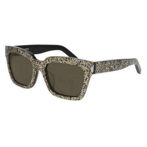 Okulary Słoneczne Saint Laurent BOLD 1/F Asian Fit 008