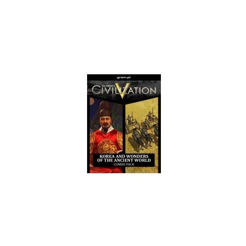 Civilization 5 Korea and Wonders of the Ancient World (PC)