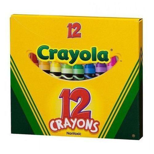 Kredki świecowe 12 sztuk marki Crayola