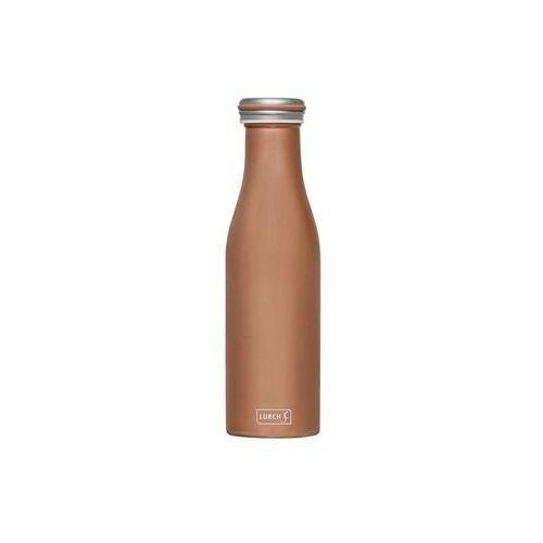 Lurch - butelka termiczna, 0,50 l, brązowa - brązowy (4019889137642)