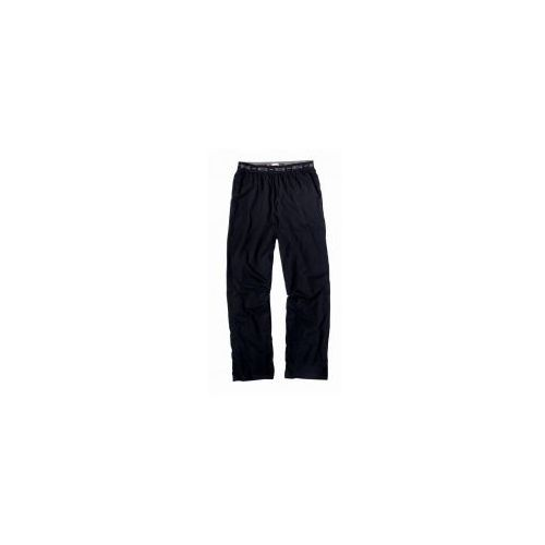 Długie spodnie do piżamy Mustang 4112 1700 czarne, kolor czarny