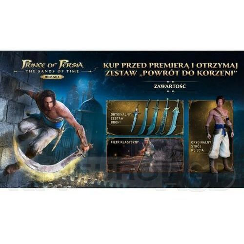 Ubisoft Prince of persia the sands of time remake nintendo switch