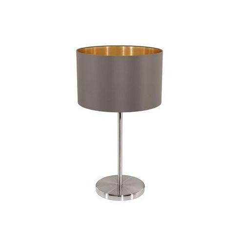 Eglo 31631 - Lampa stołowa MASERLO 1xE27/60W/230V (9002759316310)