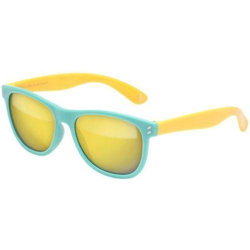 Okulary Słoneczne Stella McCartney SK0005S Kids 002, kolor żółty