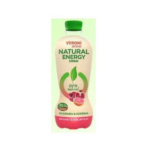 Zbyszko Napój energetyczny veroni active energy drink granat & grapefruit 0,4 l (5906441350016)
