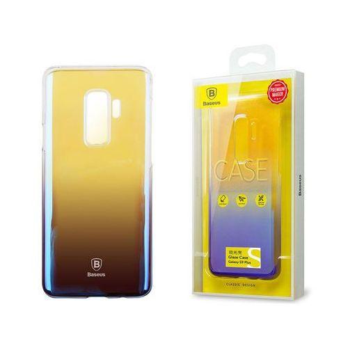 Etui Baseus Glaze Samsung Galaxy S9+ Plus ombre aurora Black - Czarny, kolor czarny