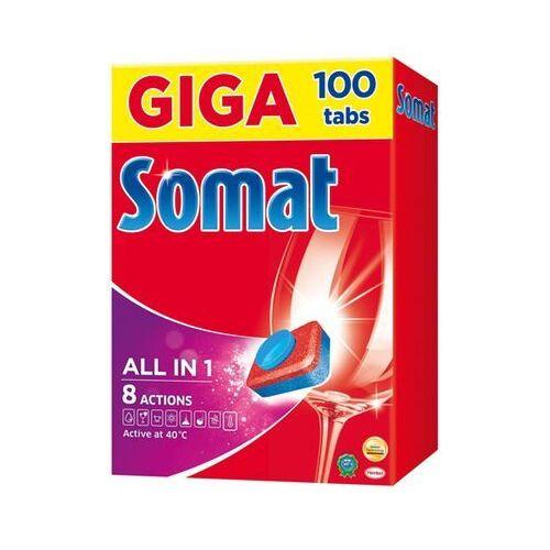 Tabletki do zmywarek 100 szt. marki Somat