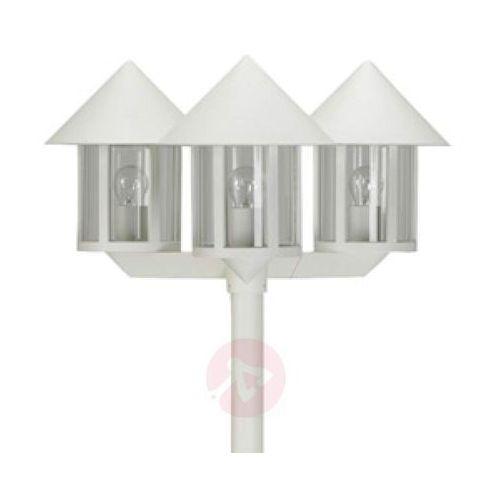 Maszt oświetleniowy LAMPIONE 3-punktowy biały (4007235820423)