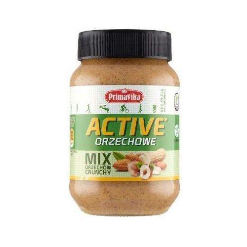 Primavika - Mix Orzechów Crunchy ACTIVE Masło Orzechowe 470g