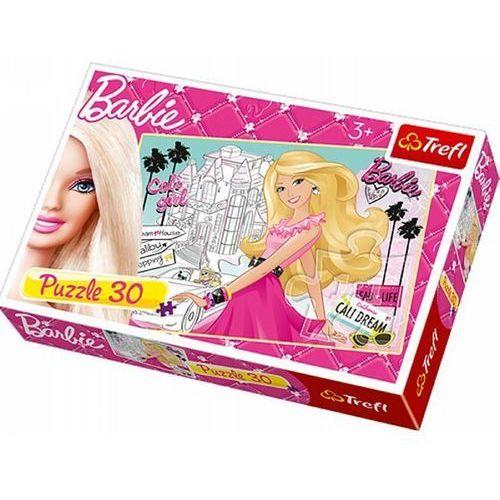 Trefl Puzzle 18171 barbie kalifornijski sen (30 elementów)