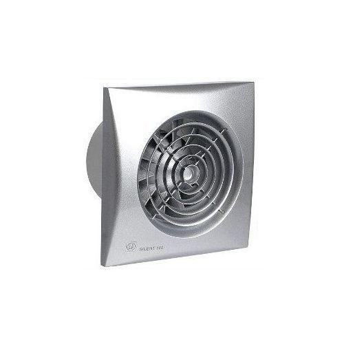 Venture industries /soler palau Wentylator łazienkowy cichy silent silver 100 cz