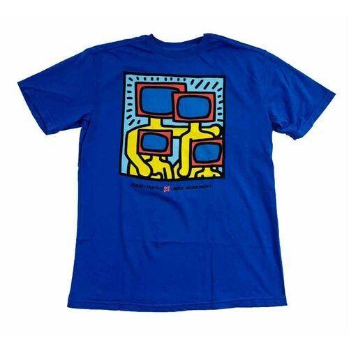 koszulka ALIEN WORKSHOP - Haring Tv Family Buzz Blue Modra (MODRA) rozmiar: XL, 1 rozmiar