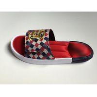 Klapki Juice7 CLOT X Adidas Slide Czerwone/białe/granatowe/złote, 4851