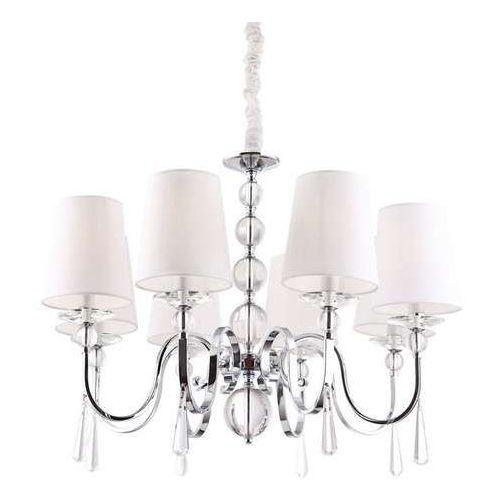 MAXlight Charlotte P0110 Lampa oprawa wisząca zwis 8x40W E14 chrom (5903351001366)