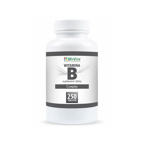 Witamina B Complex B1 B2 B6 B12 BIOTYNA 250 tabletek MyVita (5905279123878)