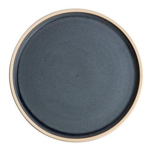 Olympia Płaski okrągły talerz, niebieski granit 180mm canvas (zestaw 6 sztuk)