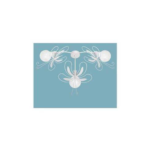 Plafon dziecięcy MOTYL 3xE27/60W biała