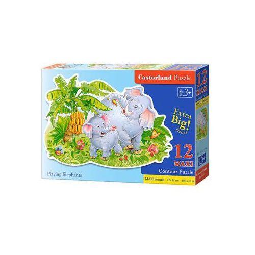 12 elementów maxi - słonie - darmowa dostawa od 199 zł!!! marki Castor