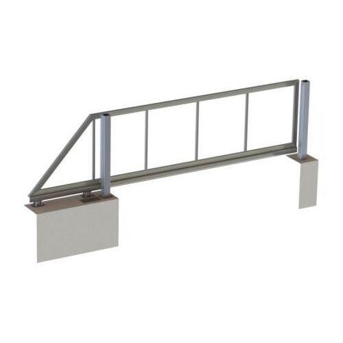 Brama samonośna, 3m 50kg L4,3m aluminiowo + inox