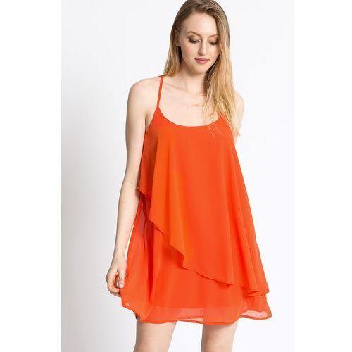 Vero Moda - Sukienka, kolor pomarańczowy