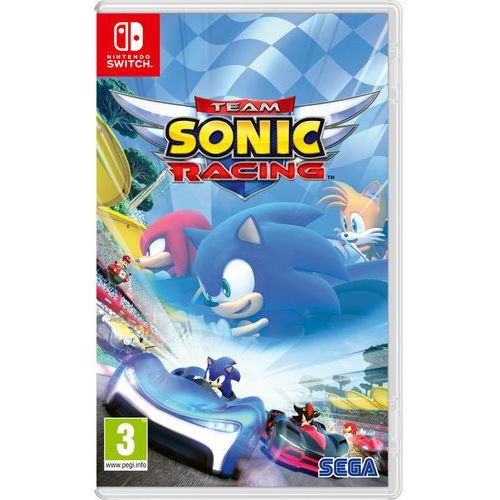 Team sonic racing marki Sega