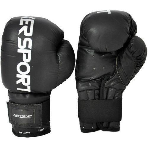 Rękawice bokserskie a1338 czarny (10 oz) + zamów z dostawą w poniedziałek! marki Axer sport