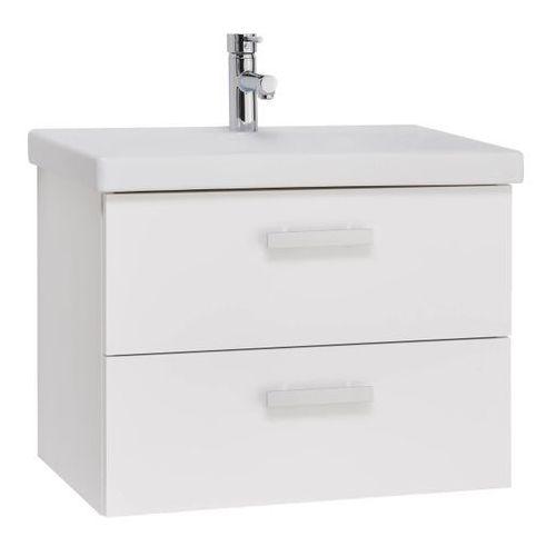 Mirano Zestaw szafka wisząca z umywalką vika 65 cm biały (5908271110143)