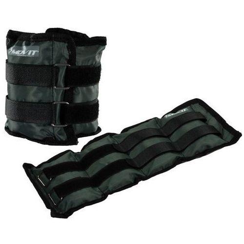 Movit ® Obciążenia 2x 1,5 kg ręce nogi ciężarki obciążniki - 2x 1,5kg / szary (20040402)