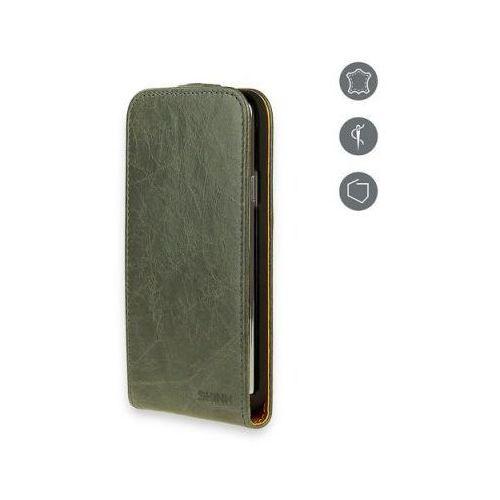 Etui SKINK Flap Card do iPhone 5/5S Szary z kategorii Futerały i pokrowce do telefonów