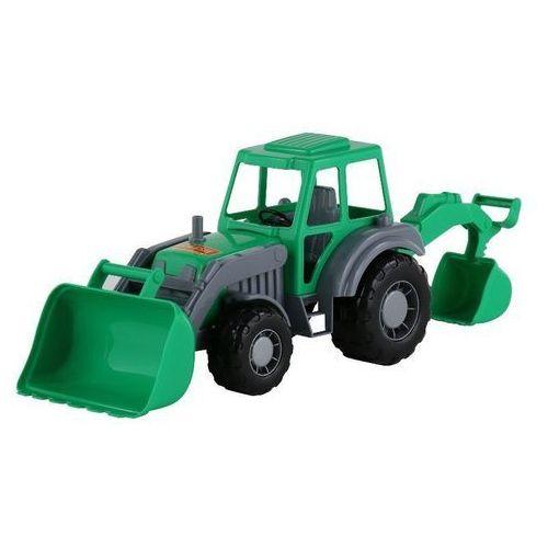 Altaj traktor-koparka zielona marki Polesie poland