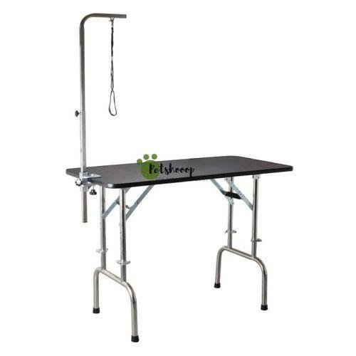 - stół trymerski z regulacją wysokości i wysięgnikiem w komplecie, blat 120x60 cm marki Shernbao