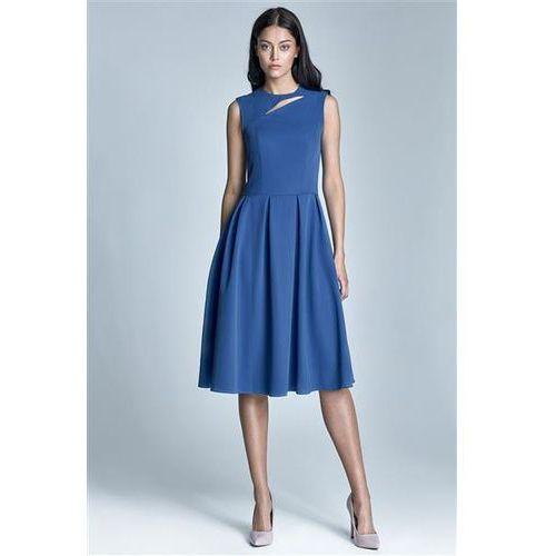 Sukienka model ann s73 1217 blue, Nife