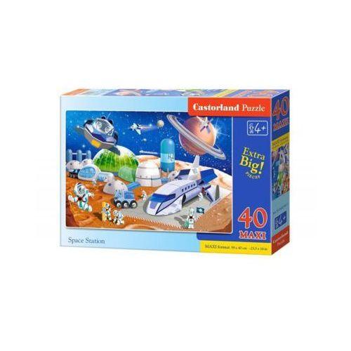 40 ELEMENTÓW Maxi Stacja kosmiczna